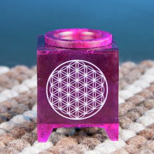 Aromalamp flower of life violet