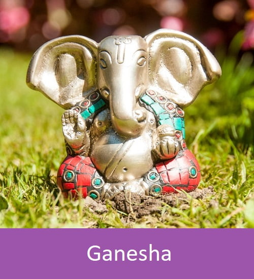 Ganesha button