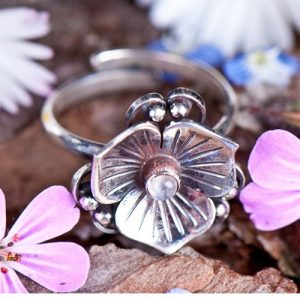 Lotusbloem ring